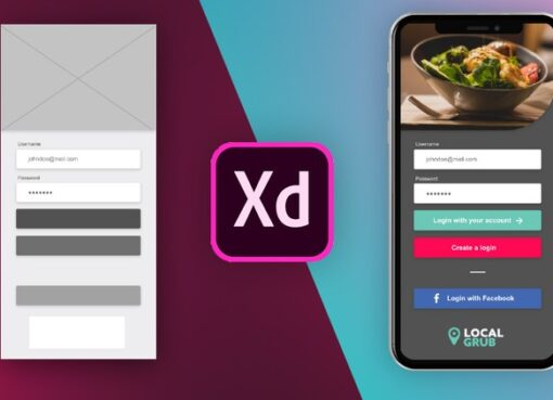 User Experience Design – Learn the UI/UX Process & Adobe XD Course