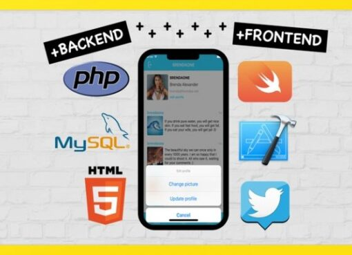 Full PHP & Swift. Create iOS Social App on Custom Backend